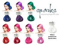 Sparks Long Lasting Bright Hair Dye Color 3oz Pick 1 Color