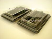 Computer Memory Case Tray Container Box 4 - Fits 40 Pc Or 80 Laptop Memory -