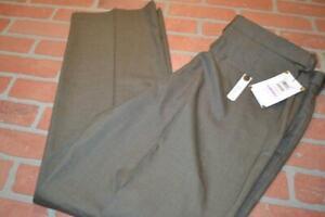 7714-a-Mens-Haggar-Dress-Pants-Golf-Tan-Polyester-Size-38-x-32-NEW-TAGS