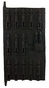 Porta Dogon Loft Mali 64x38 CM Persiane Arte Africano West Africa 16525 Hg 1