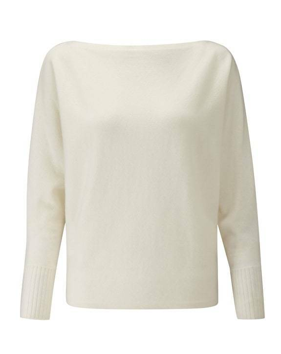 BNWT Pure Collection Batwing Cashmere Sweater  UK Size 14 RRP