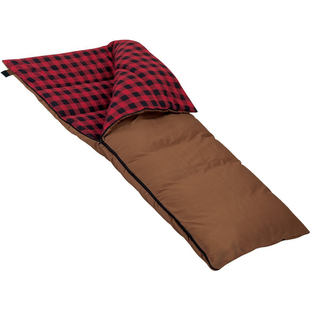 Moose Country Gear Extra-Large, Extra-Long Grande 0  Flannel Sleeping Bag