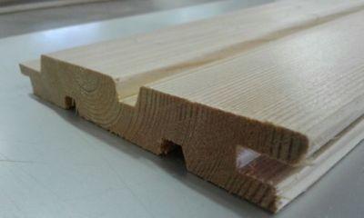 VertrauenswüRdig Fassadenverkleidung Sib 4,00 M 5,10 M 6 M Lärche Doppelrhomboid 22/146 Längen