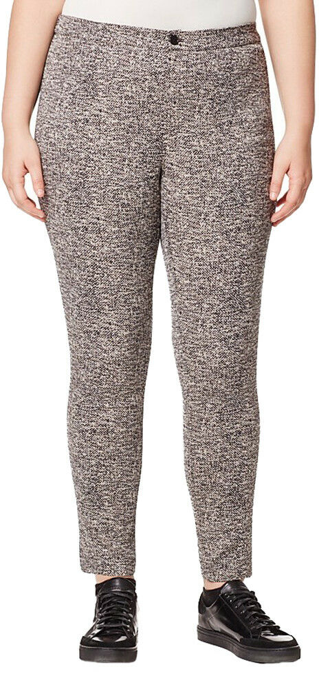 MARINA RINALDI Women's Multi Ritmo Heathered Trousers  310 NWT