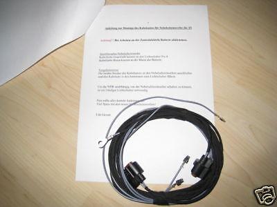 Kabelbaum Kabelsatz NSW VW Polo 9N3 Nebelscheinwerfer nachrüsten Kabel Anschluss