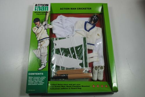 "ACTION MAN GI JOE 40TH ANIVERSARY "" ACTION MAN CRICKETER ""OUTFIT MIB"