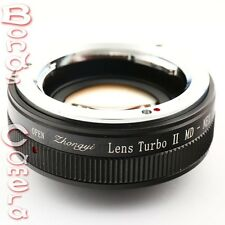 Zhongyi Focal Reducer Booster Turbo II Minolta MD Lens to Sony E Adapter NEX 7 6
