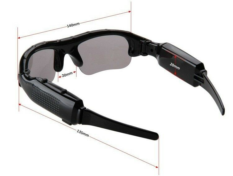 1c3b945831dbc Spy Camera Glasses HD Sunglasses Video DV Recorder Camcorder DVR Eyewear