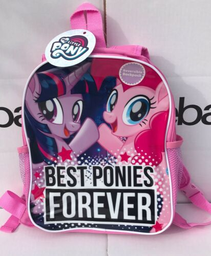 My Little Pony Reversible School Bag Girls Backpack Rucksack Brand New with Tags