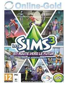 Les-Sims-3-En-Route-vers-le-Futur-Into-the-Future-Cle-EA-Origin-PC-carte-FR