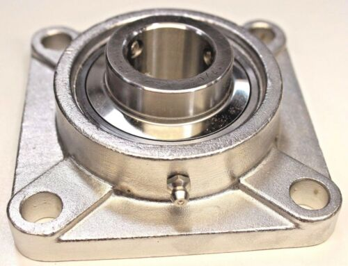 "Premium SUCSF208-24Stainless Steel UCF208-24  4-Bolt Flange Unit 1-1//2/"" Bore"