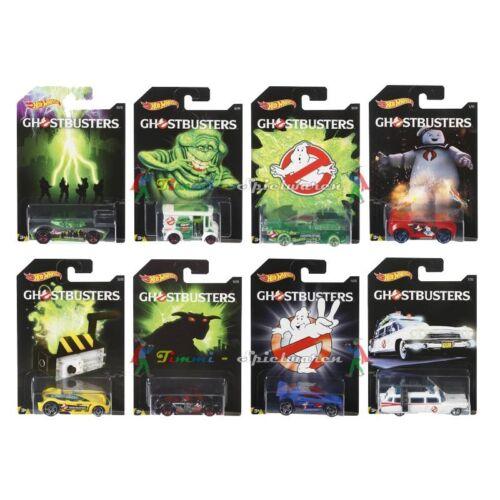 1 Stay Puft nuevo Hot Wheels Ghostbusters dwd94 limitado colección completa ecto