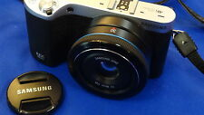 >> Samsung nx500 fotocamera incl. McGriddle obiettivo s30nb 30mm >>