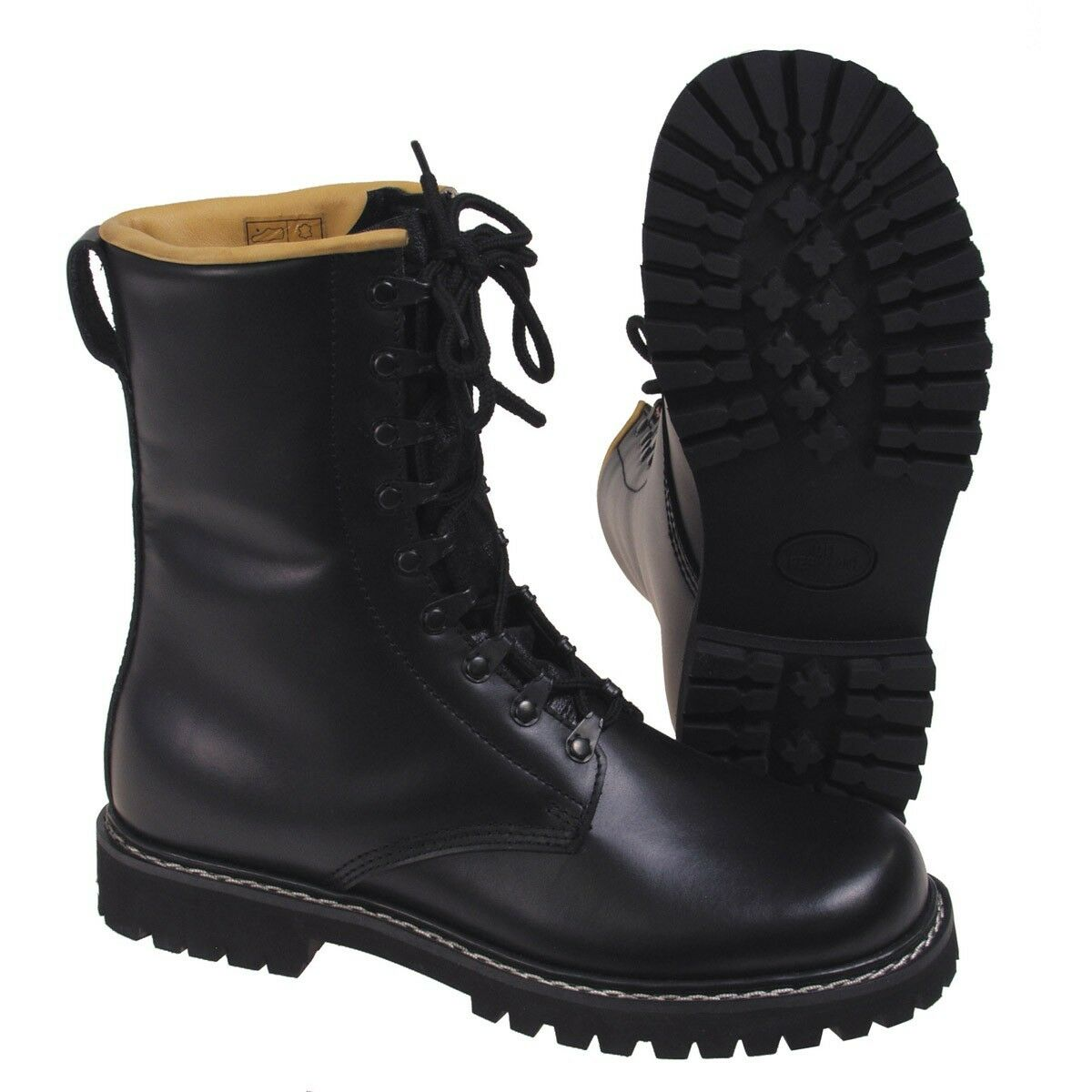 Combate botas combate botas zapatos Seguridad BW Ejército outdoor nuevo