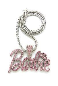 Nicki-Minaj-Barbie-Pendant-With-4mm-18-034-Franco-Chain-Necklace