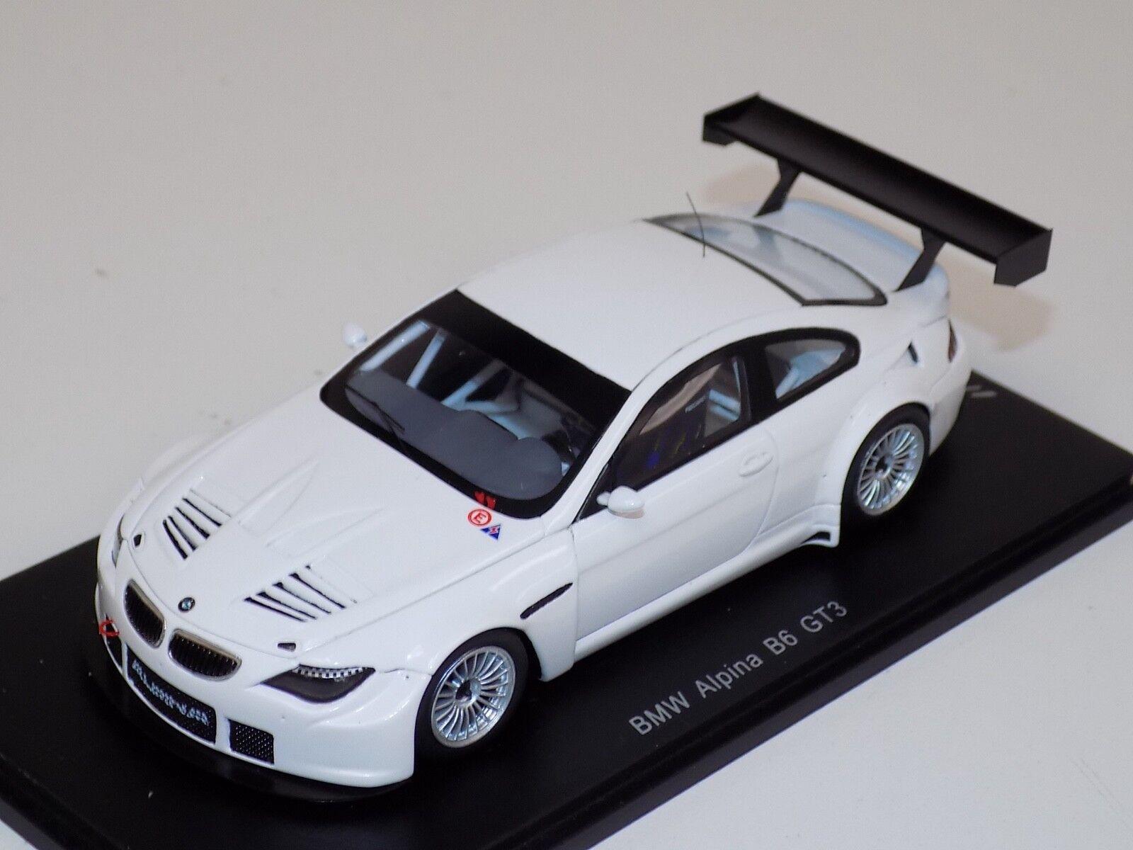 1 43 Spark BMW 6 Series Alpina B6 GT  in White  CA04311010