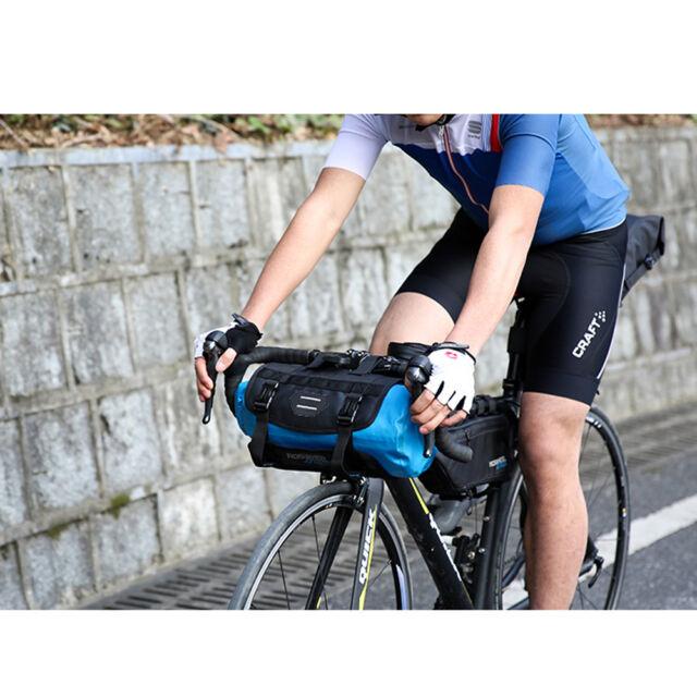 Roswheel Waterproof Cycling Bicycle Bike Bag Fishing Front Handlebar Bag Blue