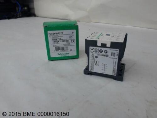 SCHNEIDER ELECTRIC, CA2KN22F7, CONTROL RELAY, 110V, 50/60 HZ