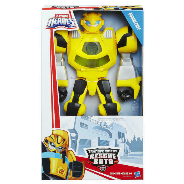 Transformers Rescue Bots Playskool Heroes Action Figure Bumblebee