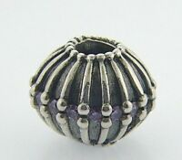 790870acz Pandora Sterling Large Showstopper Bead In Box