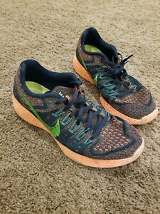 Nike-Lunartempo-Men-Multi-Color-Athletic-Running-Shoes-Size-8-Neutral-Ride-Soft