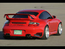 PORSCHE GTX  REAR WING  TIAL SPOILER KIT 996 TURBO COUPE 01 TO 05 BUMPER SKIRTS