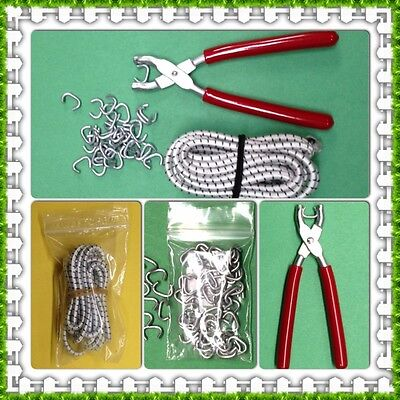 Doll Restring Kit Hog Ring Pliers Hog Rings 3 Yds Elastic Cord