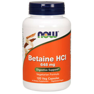 Betaine-HCL-648mg-x-120-Capsules-NOW-Foods-Digestion-Health