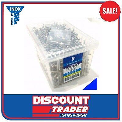 Inox Stainless Steel Square Drive Decking Screw A2 (304) 10G-12x65 SDSA210GX65R