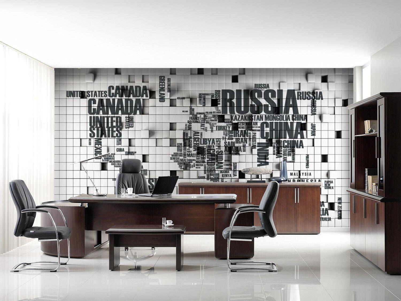 3D Letter Modern 9789 Wallpaper Mural Wall Print Wall Wallpaper Murals US Carly