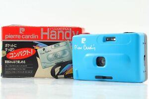[Unused] Pierre Cardin Handy camera Blue 35mm Film Compact Camera From JAPAN