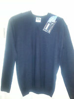 Psc By Cosmex Dark Navy Military V Neck Tactical Commando Sweater Xl