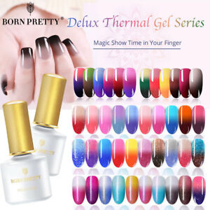 BORN-PRETTY-Color-Changing-UV-Gel-Polish-Thermal-Nail-Art-Gel-Varnish
