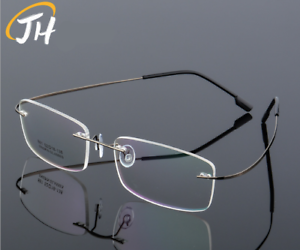 505c3157c46 Image is loading Flexible-Memory-Titanium-Alloy-Rimless-Glasses-Eyeglass- Frames-