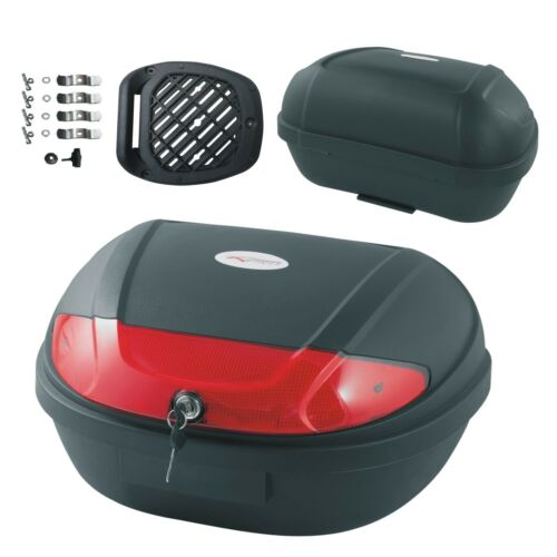 Universal Top box Case Luggage 48 lt Touring Motorcycle Scooter