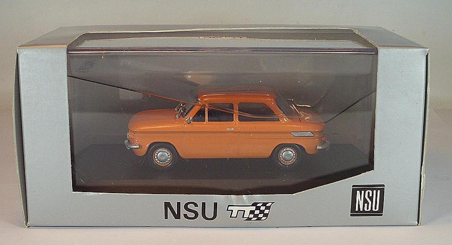SCHUCO 1 43 AUDI NSU TT Orange publicitaires modèle neuf dans sa boîte  2639
