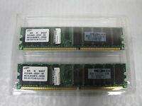 4gb Hp Samsung Pc2100r-25331-n0 2x2gb Pc2100 Cl2.5 Ecc Server Ram Memory Set