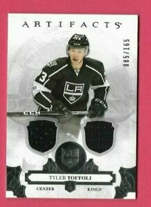2017-18 Upper Deck Artifacts Dual Patch Card 99 - Tyler Toffoli - 85/165 NM/MNT