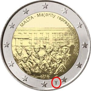 MALTA-2-EURO-COMM-2012-CON-SEGNO-DI-ZECCA-OLANDA-PAYS-BAS-1887-ELEZIONI