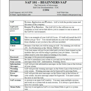 Details about SAP training course  Simulation Software and Training  material  ISO file on DVD