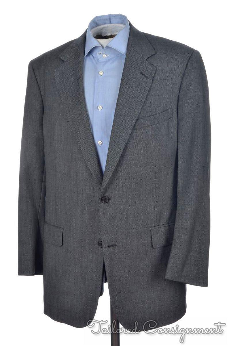 BROOKS BROTHERS GOLDEN FLEECE grau Birdseye Zegna Cloth Blazer Sport Coat - 42 L