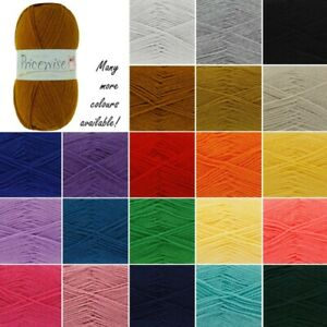 King-Cole-Pricewise-DK-Knitting-Yarn-Knit-Wool-100g-Ball-Acrylic