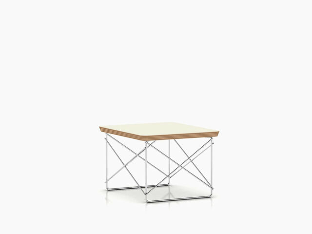 Herman Miller  Eames Wire Base Low Table Authentic Brand new Black Top