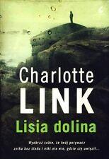 Lisia dolina, Charlotte Link,  polish book, polska ksiazka
