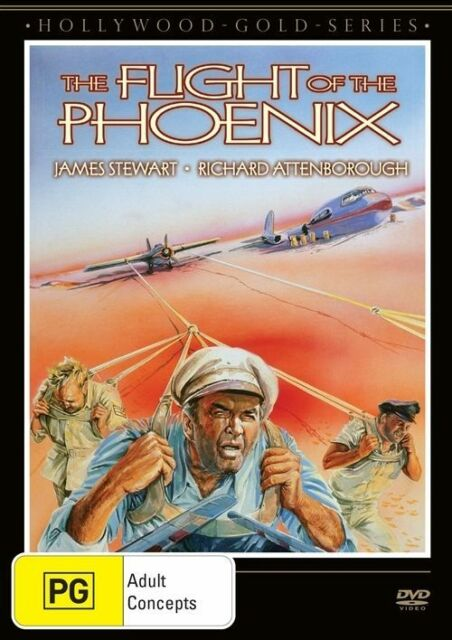 G25 BRAND NEW SEALED The Flight Of The Phoenix (DVD, 2013) Hollywood Classic