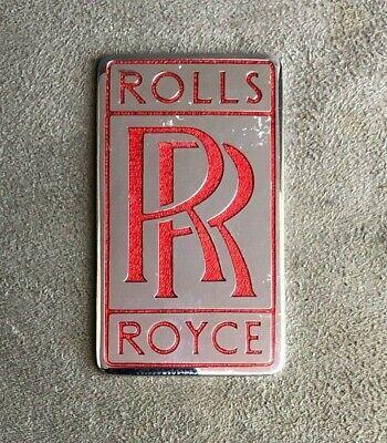 ROLLS ROYCE ENAMEL CAR BADGE EMBLEM | eBay