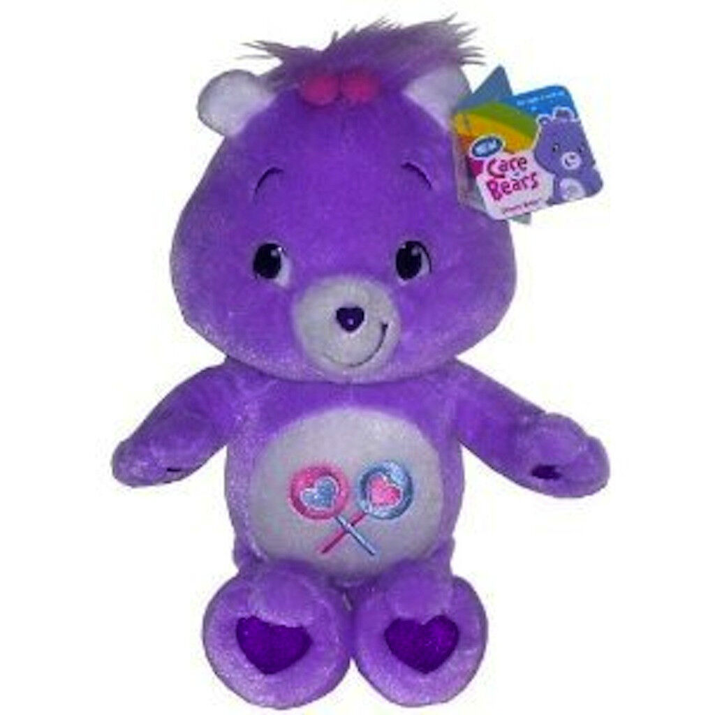 New Care Bears Share Bear 12  Plush Doll Toy Ships from USA, Brand New with Tags