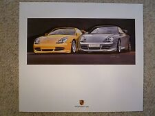 2000 Porsche 911 GT3 Coupe Design Showroom Advertising Poster RARE Awesome L@@K