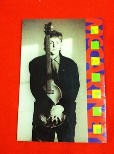 Vintage Paul McCartney 1989 WORLD TOUR PROGRAM Beatles