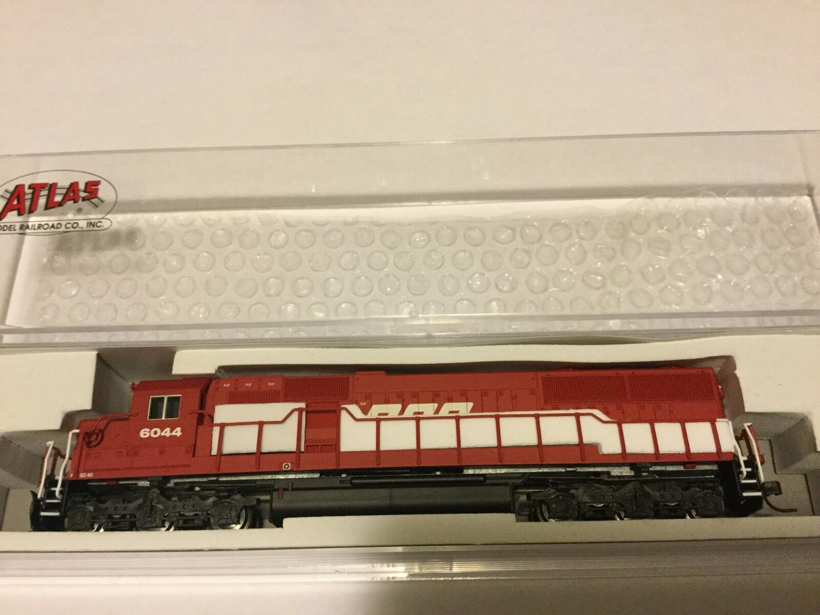 ATLAS 1 160 N Scale  SD-60 SOO LINE Rd Rd Rd  6044 NCE for DCC   40002067 F S a38c27
